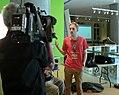 Hamburg, Museum für Kunst und Gewerbe Wiki Loves Music Gnom Interview 2.jpg