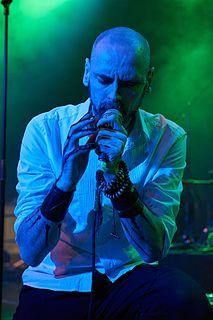 Aaron Stainthorpe British singer