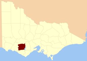 Electoral district of Hampden - County of Hampden