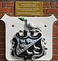 Hampton Court Bridge, Coat of Arms of Thomas Newland Allen.jpg