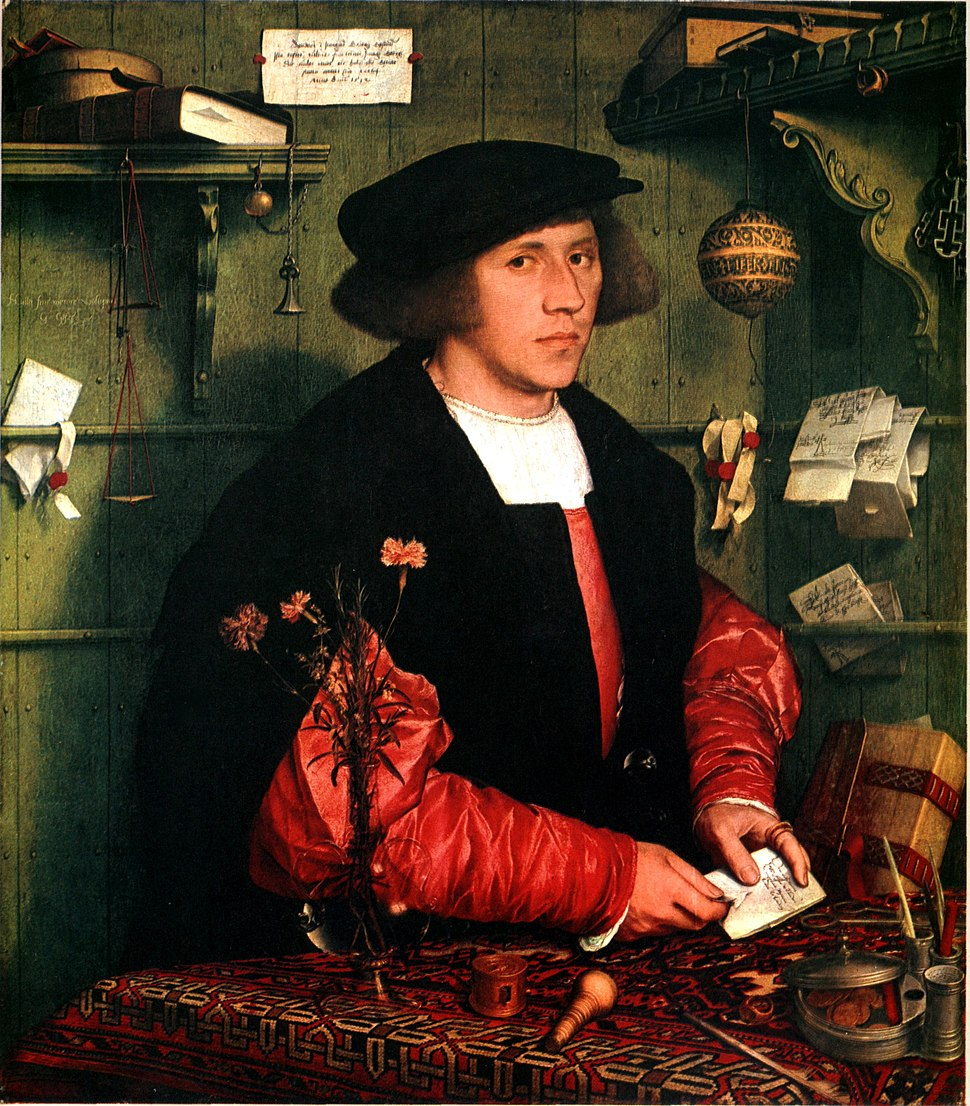 Hans Holbein the Younger - George Gisze - 1532