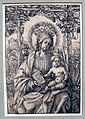 Hans burgkmair, madonna col bambino, 1509 ca, xilografia.JPG