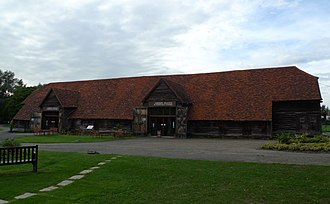 Headstone Manor - Headstone Manor Tithe Barn, now a visitor centre