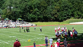 Hastings High School (New York) - Image: Hastings High School Football Game
