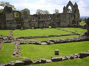 Haughmond Abbey - Remains of Haughmond Abbey