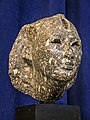 Head of King Osorkon II of Egypt excavated at Tunis 874-850 BCE Black Granite.jpg