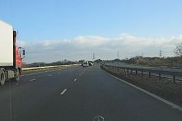 Heading East on the M69 - geograph.org.uk - 119042.jpg