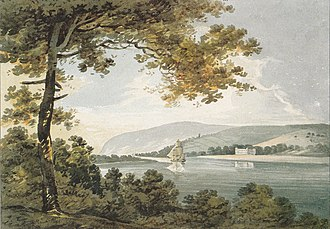 Heanton Punchardon - Image: Heanton Court By Swete 1796