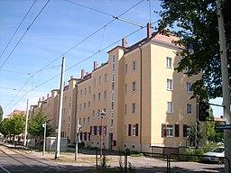 Hebbelplatz in Dresden
