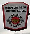 Heidelberger Schlossquell Werbeschild Heidelberg-Rohrbach August 2012.JPG