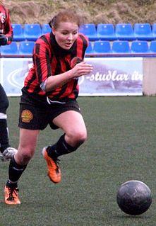 Heidi Sevdal Faroese footballer