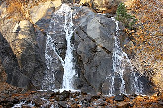 Parks in Colorado Springs, Colorado - Helen Hunt Falls, North Cheyenne Cañon Park