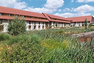 Eisleben - Modern accommodation for nuns, Helfta Convent (Lutherstadt Eisleben).