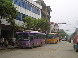 Tongshan County - Image: Hengshitan main street CIMG9916