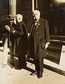 Henri La Fontaine au Congrès universel de la paix, Berlin, 1924.jpg