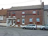 Herbelles (Pas-de-Calais, Fr) mairie - école.JPG