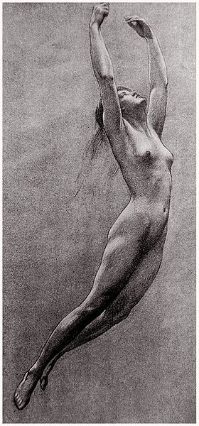 File:Herbert James Draper, Study for Iris from Prospero.jpg