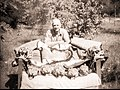 Herbert Tocher with trophies..jpg