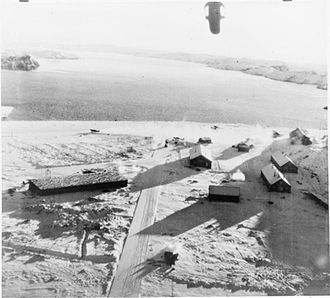 No. 114 Squadron RAF - Image: Herdla airfield bombing Operation Archery
