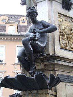 Herkulesbrunnen Augsburg Najade 1