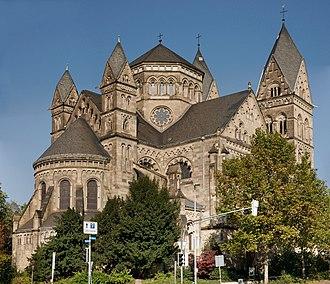 Ludwig Becker (architect) - Herz-Jesu-Kirche in Koblenz