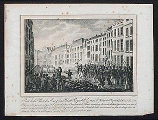Het innemen van de Meir en het Koninklijk Paleis te Antwerpen op 26 oktober 1830