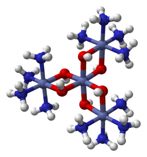 Hexol - Image: Hexol cation from xtal 2000 3D balls