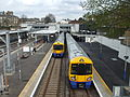 Highbury & Islington stn East London Line high eastbound April 11.JPG