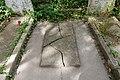Highgate Cemetery - East - Marx (first grave) 03.jpg