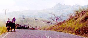 Eastern Highlands Province - Image: Highland Highway Eastern Highlands Province Papua New Guinea
