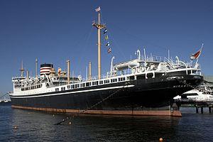 Hikawa Maru - Image: Hikawa maru Yokohama