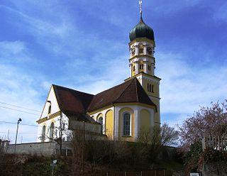 Kellmünz Place in Bavaria, Germany