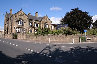 Robert Peel - Peel was educated briefly at Hipperholme Grammar School (pictured)