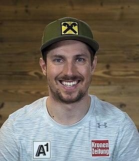 Marcel Hirscher Austrian alpine skier