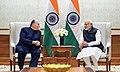 His Highness Prince Karim Aga Khan calls on the Prime Minister, Shri Narendra Modi, in New Delhi on February 21, 2018 (3).jpg