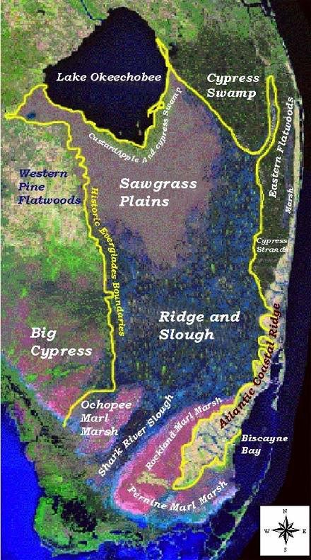 Historic Everglades Regions