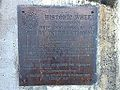Historic Wheel Plaque, Oakman Park, Toowong, Queensland.JPG