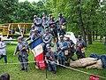 Historical reenactment festival in the Memorial park 09.jpg