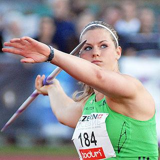 Ásdís Hjálmsdóttir Icelandic javelin thrower