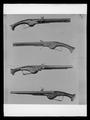 Hjullåspistol, Holland eller Baltikum ca 1630. Gustav II Adolfs pistoler vid Lützen 1632 - Livrustkammaren - 62707.tif