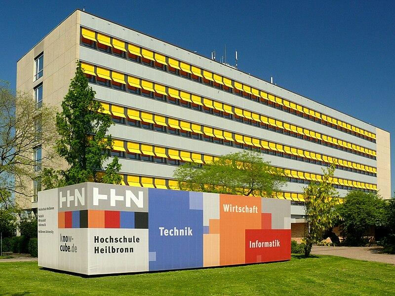 File:Hochschule Heilbronn mit Know Cube.jpg