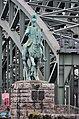 Hohenzollernbrücke. Kaiser Friedrich III. (nördliche linksrheinische Rampe).jpg