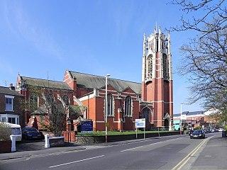 Church in Merseyside, England