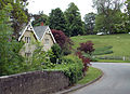 Holywell, Lincolnshire - House and road.jpg
