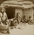 Home Life of the bearded Ainus of northern Japan, World's Fair, St. Louis (Louisiana Purchase Exposition).jpg