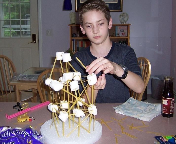 Homeschooler with Project