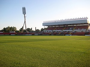 2013 Magyar Kupa Final - Bozsik Stadion hosted the final