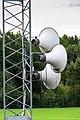 Horn loudspeakers at Brastad arena.jpg