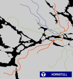 hornstull tunnelbana uppgångar