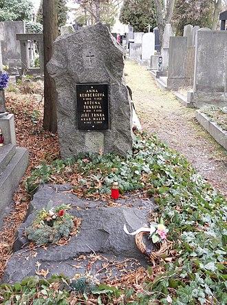 Jiří Trnka - Grave of Jiří Trnka at the Central Cemetery in Pilsen